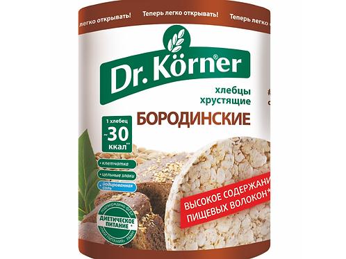"""Хлебцы бородинские """"Dr. korner"""" 100гр"""
