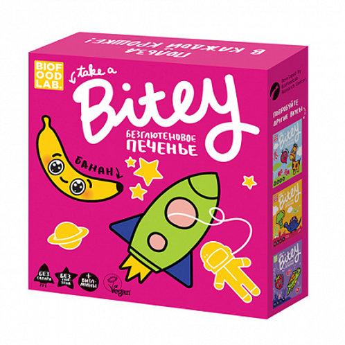 """Печенье """"Банан"""" безглютеновое """"Bite"""" 162г"""