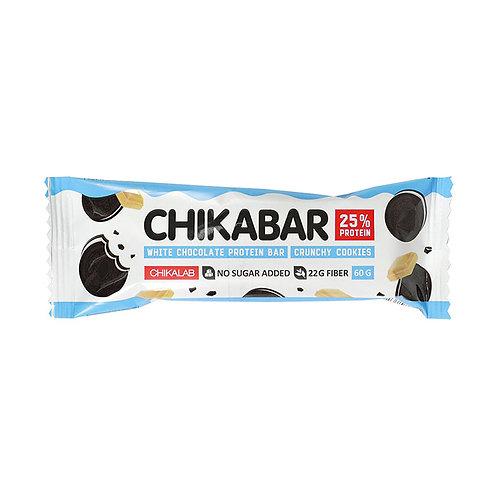 """Протеиновый батончик  """"Хрустящее печенье"""" """"ChikaBar"""" 60г"""