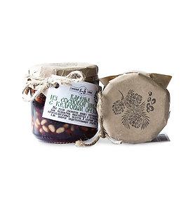 Варенье из сосновых шишек с кедровым орехом (50/50%) 240гр