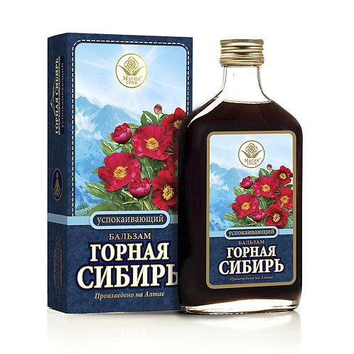 """Бальзам Успокаивающий """"Горная Сибирь"""" 250мл"""