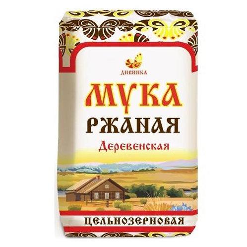 """Мука ржаная Деревенская """"Дивинка"""" 1кг"""