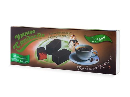 """Конфеты желейные кофе-пломбир в глазури """"Умные сладости"""" 105г"""