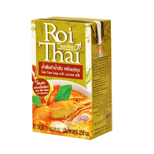 "Суп  Том Ям с кокосовым молоком ""ROI THAI"" 250мл"