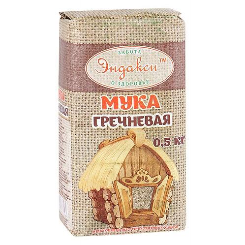 """Мука гречневая """"Эндакси"""" 500г"""