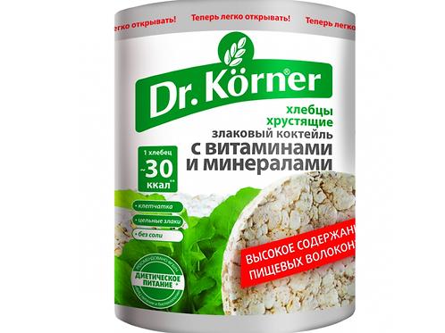 """Хлебцы с витаминами и минералами """"Dr korner"""" 100гр"""