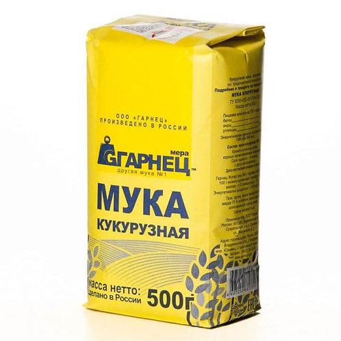 """Мука Кукурузная """"Гарнец"""" 500г"""