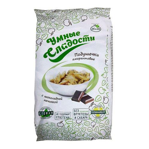 """Подушечки с шоколадной начинкой со стевией """"Умные Сладости""""  150г"""