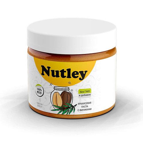 """Паста арахисовая с фиником """"Nutley"""" 300г"""