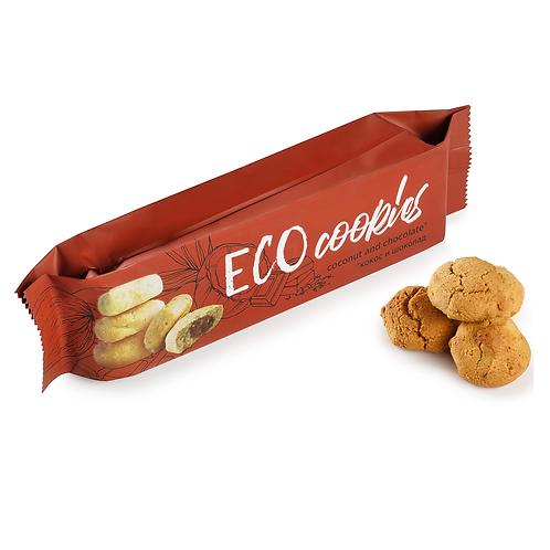 """Эко-печенье без глютена мини """"Кокос и шоколад"""" 130г"""