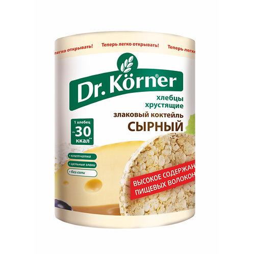 "Хлебцы «Злаковый коктейль» Сырный ""Dr korner"" 100гр"