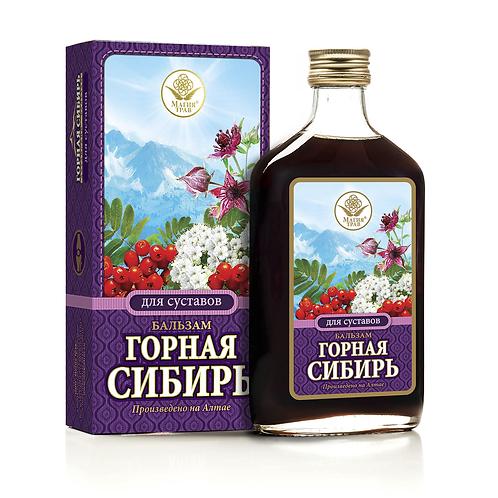 """Бальзам Для суставов """"Горная Сибирь"""" 250мл"""