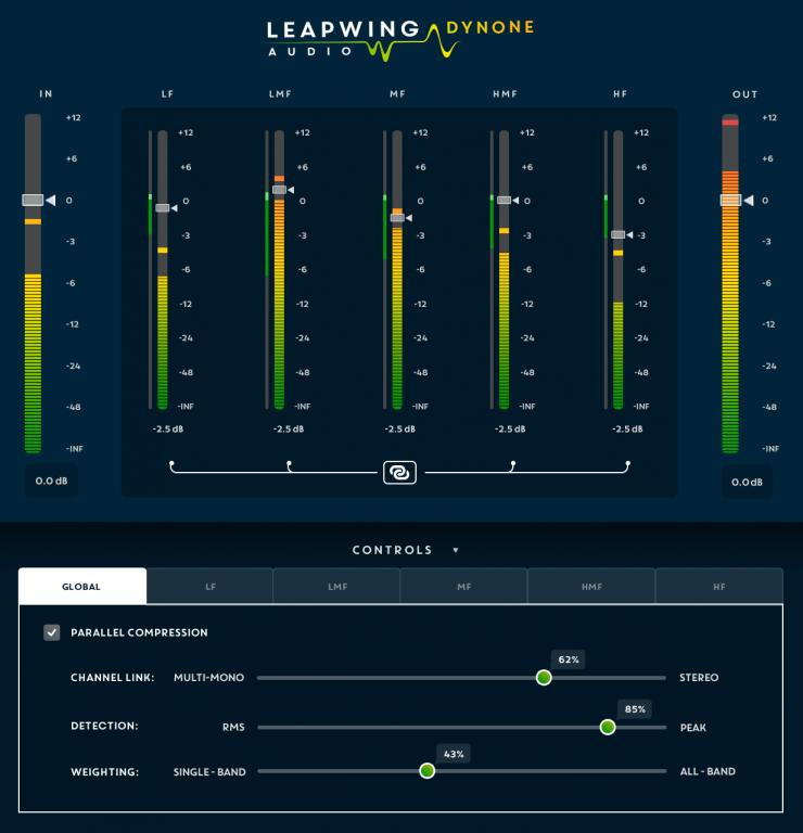 Leapwing Audio DynOne Parallel Mastering Compressor