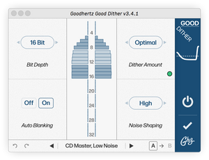 Goodhertz Good Dither for Audio Mastering