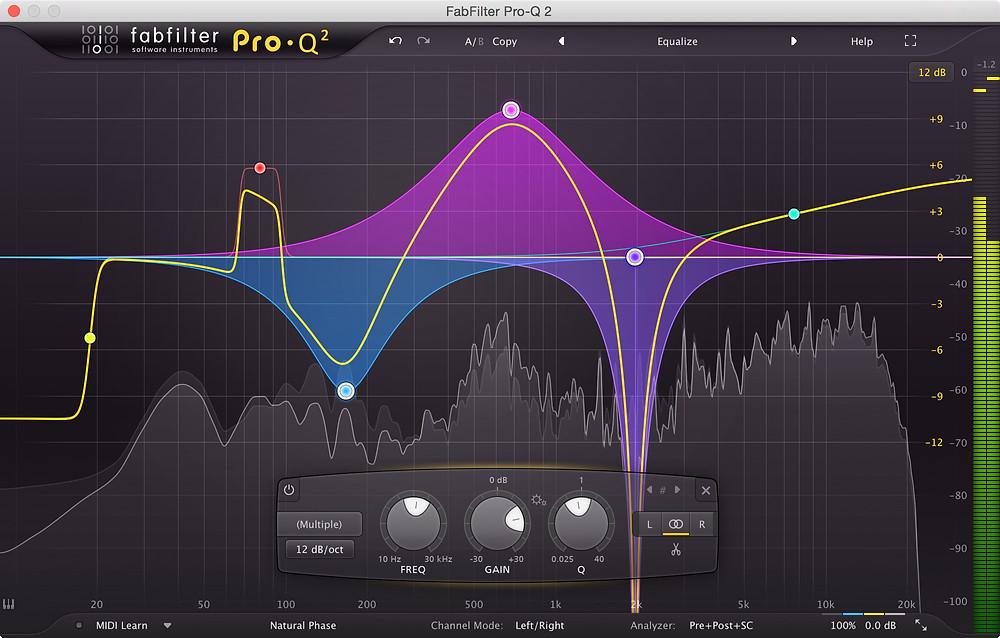 FabFilter Pro-Q 2 Mastering EQ