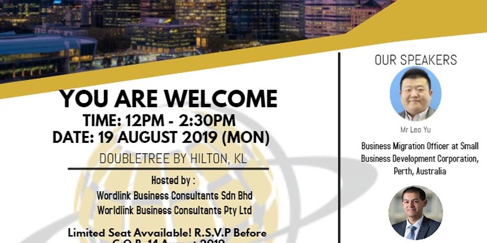 Western Australia Business/Investor Migration Luncheon Seminar