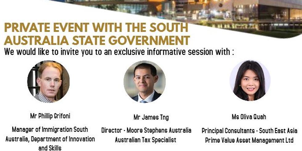 South Australia Business & Investment Migration Seminar