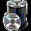 Thumbnail: Black Thermal Printed Dvds