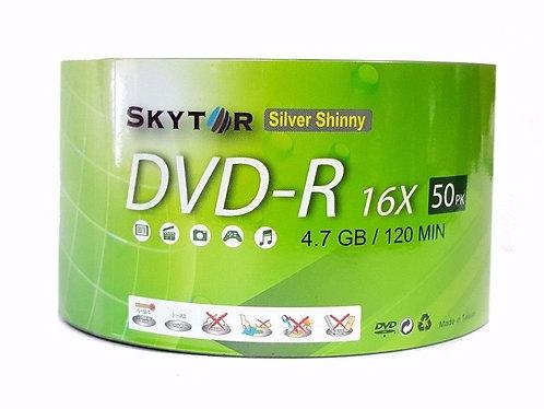 Blank Skytor DVD-R Recordable Silver Shiny Printable 16X 4.7GB 120min