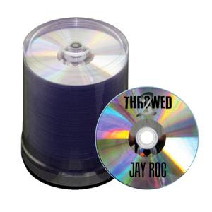 Black Thermal Printed CDs