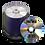 Thumbnail: Black Thermal Printed CDs