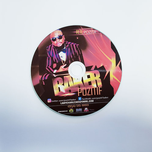Full Color Printed CDs