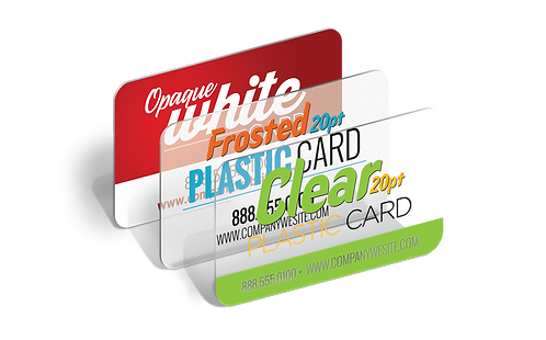 Plastic Business Cards (20 point)