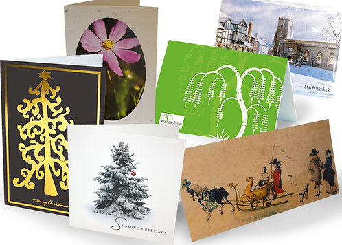 Greeting Cards With Aqueous Finish