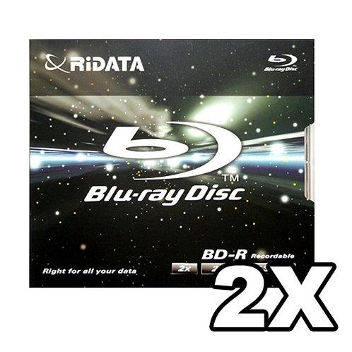 Ritek Ridata BD-RE-252-RD-JC 25GB 2X Speed Single Sided Single Layer