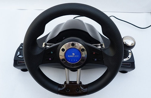 Eurocase Premium Video Game Steering Wheel