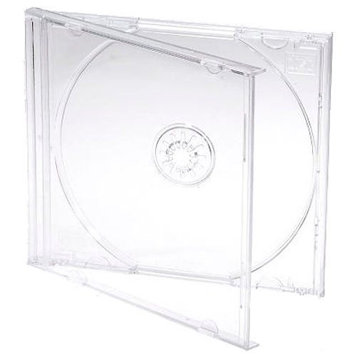 Standard Clear Single Jewel Cases (200)