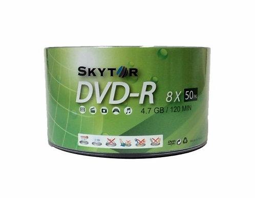 Blank Skytor DVD-R Recordable White Logo 8X 4.7GB 120min