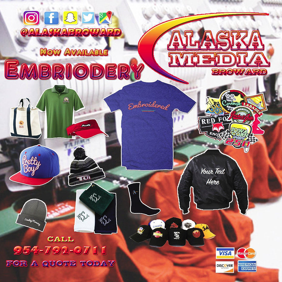 Embriodery Ad