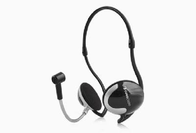 Flexible Neck Headphone with Microphone