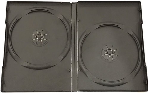 14mm DVD Cases Double Amaray (Box of 100)