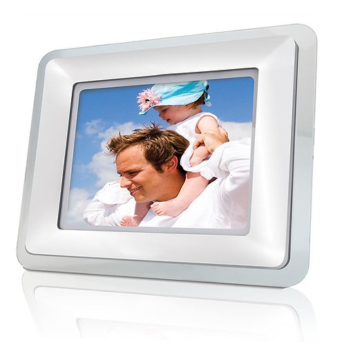 Coby DP-769 7-Inch Widescreen Digital Photo Frame with MP3 Player