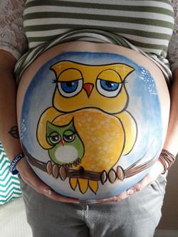 calgary facepainting owl prenatal belly fancy faces.jpg