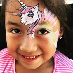unicorn face paint calgary best