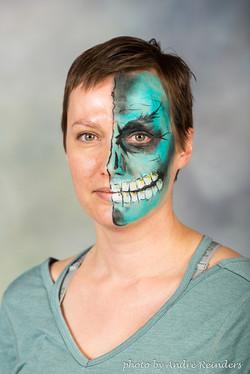 Blue skull Calgary best Face Painter Fancy Faces.jpg