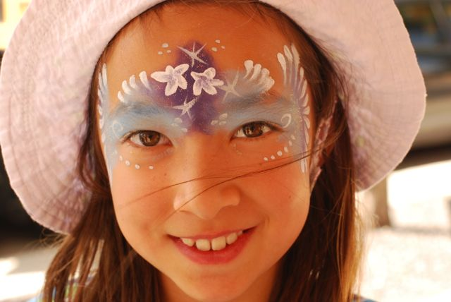 forzen elsa flowers face paint Fancy.jpg