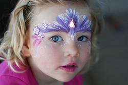 calgary face painting gems purple pink princess crown Fancy Faces.jpg
