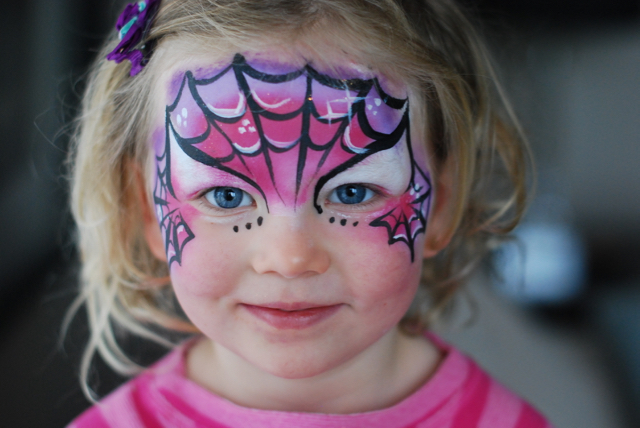 calgary facepainting girl pink spiderman fancy faces.jpg