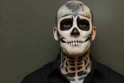 skeleton face paint Fancy Faces.JPG