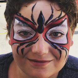spiderman face paint calgary best