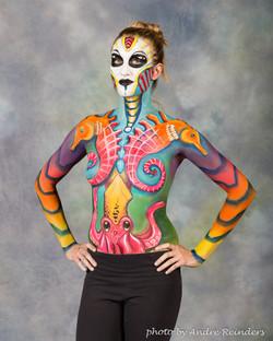 Sea horse octopus body paint Fancy Faces Face paint.jpg
