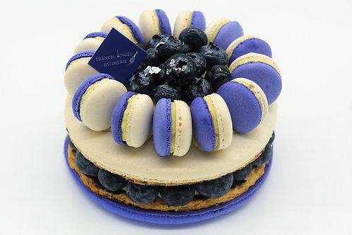 藍莓馬卡龍千層 (4/5/6吋)