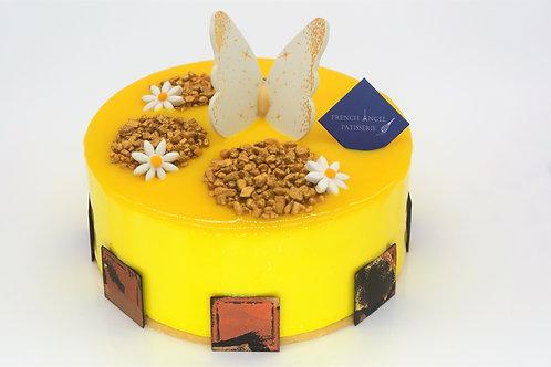 芒果熱情果蛋糕 (每磅)