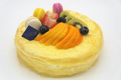 雜果雲尼拿忌廉千層蛋糕 (6吋 7吋 8吋 9吋)