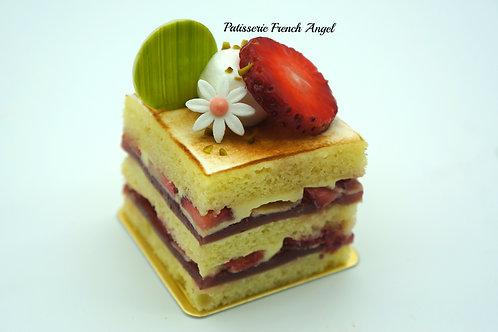 雲尼拿草莓蛋糕