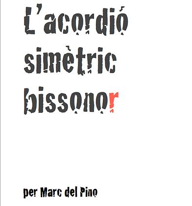 LLIBRE- L'acordió Simètric Bissonor, Marc del Pino